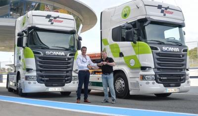 MotoGP™ & Scania arbeiten zur Emissionsverringerung zusammen