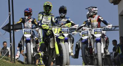 Yamaha VR46 Master Camp Riders race Rossi