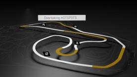 A look at the areas where the most overtakes occur at the #GermanGP.