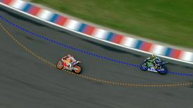Jack Miller's Crew Chief Christian Gabbarini about racing lines and the difference they can make.