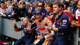 Antes del Gran Premio de Alemania, repasamos las 8 magníficas carreras que se han disputado en la temporada 2016 de MotoGP™.