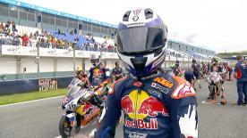 The full race 1 session of the Red Bull MotoGP™ Rookies Cup at the #SpanishGP.