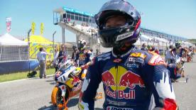 The full race 2 session of the Red Bull MotoGP™ Rookies Cup at the #SpanishGP.