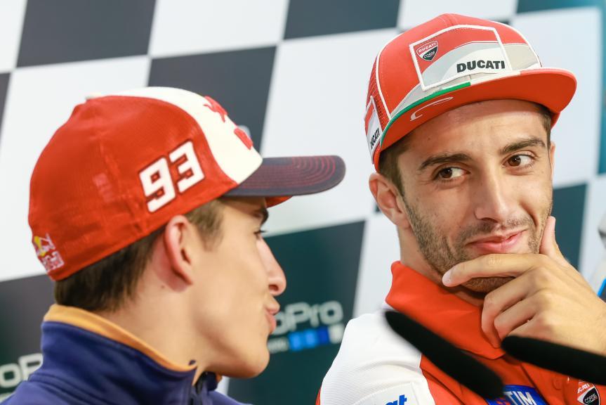 Andrea Iannone, Marc Marquez, Ducati Team, GoPro Motorrad Grand Prix Deutschland