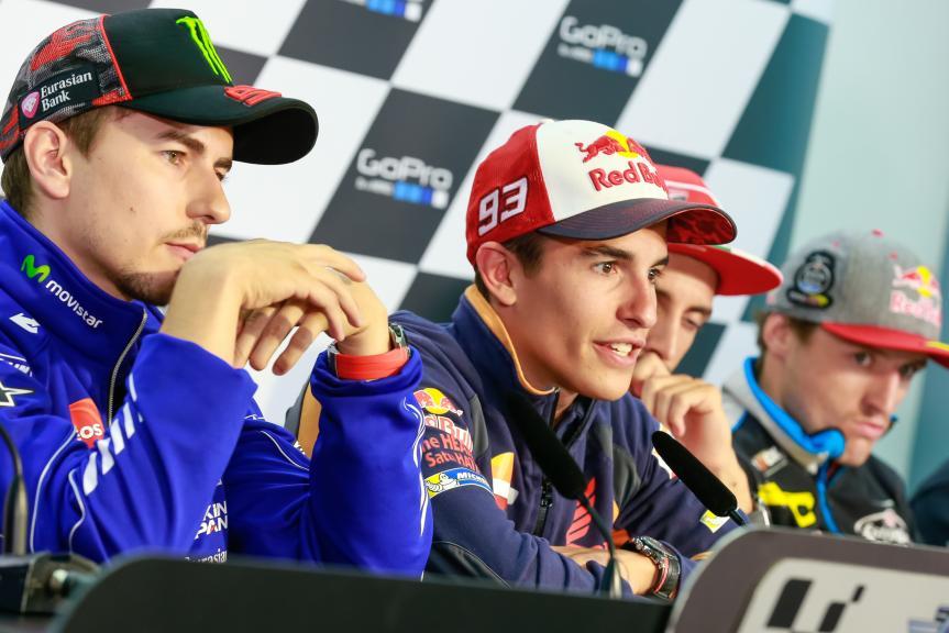 Jorge Lorenzo, Marc Marquez, GoPro Motorrad Grand Prix Deutschland