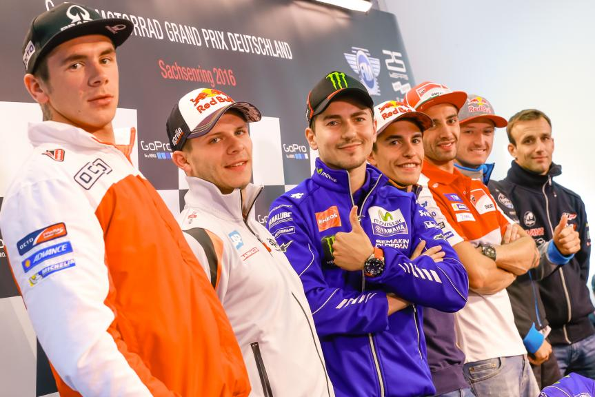 Press conference GoPro Motorrad Grand Prix Deutschland