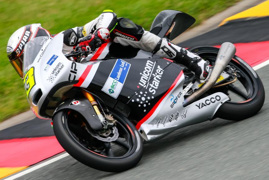 Fabio Spiranelli, GoPro Motorrad Grand Prix Deutschland