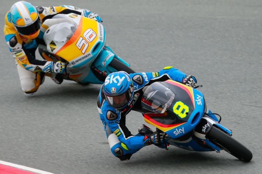 Nicolo Bulega, Juanfran Guevara, GoPro Motorrad Grand Prix Deutschland