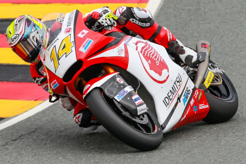 Ratthapark Wilairot, IDEMITSU Honda Team Asia, GoPro Motorrad Grand Prix Deutschland