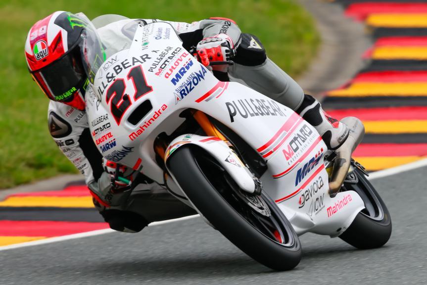 Francesco Bagnaia, ASPAR Mahindra Team Moto3, GoPro Motorrad Grand Prix Deutschland