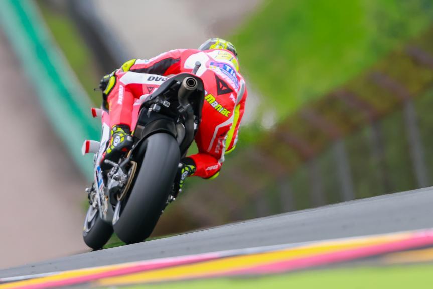 Andrea Iannone, Ducati Team, GoPro Motorrad Grand Prix Deutschland