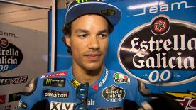 Franco Morbidelli ended Friday's practice at the German GP in second as he aims for back-to-back podiums for the first time in his career.