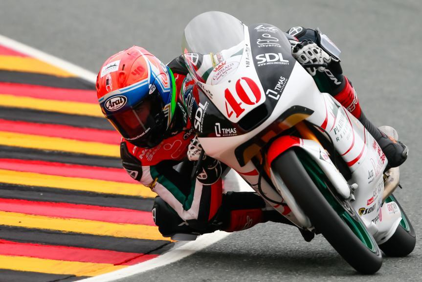 Darryn Binder, Platinum Bay Real Estate, GoPro Motorrad Grand Prix Deutschland