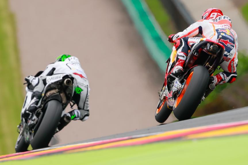 Eugene Laverty, Marc Marquez, GoPro Motorrad Grand Prix Deutschland
