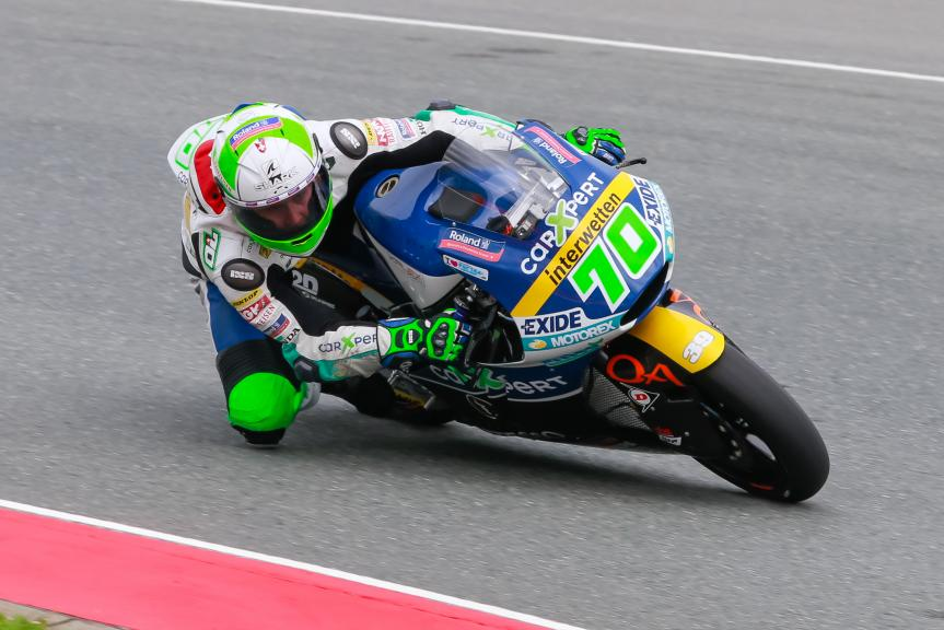 Robin Mulhauser, CarXpert Interwetten, GoPro Motorrad Grand Prix Deutschland