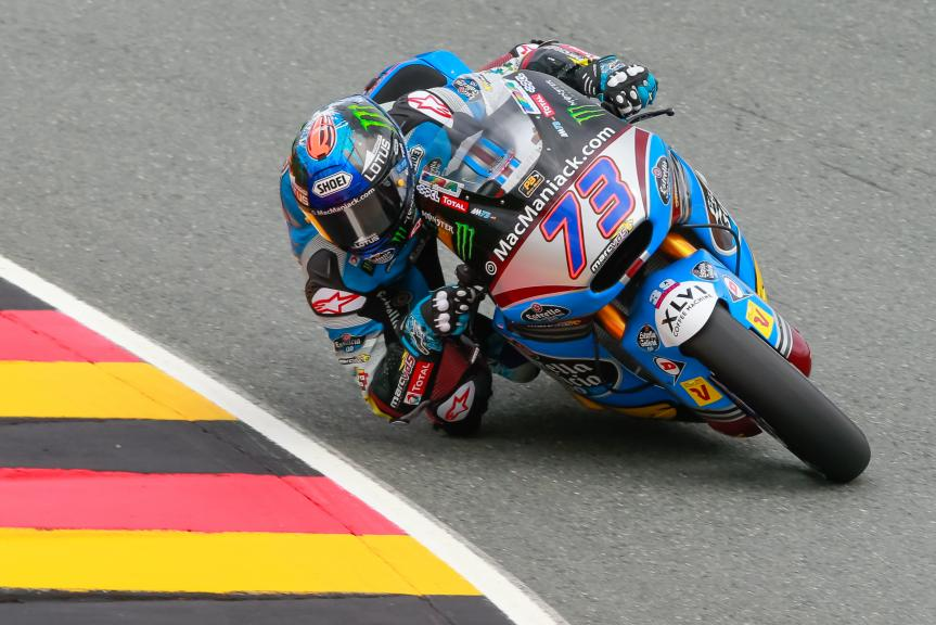Alex Marquez, Estrella Galicia 0,0 Marc VDS, GoPro Motorrad Grand Prix Deutschland