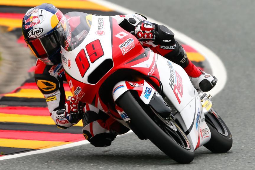 Khairul Idham Pawi, Honda Team Asia, GoPro Motorrad Grand Prix Deutschland