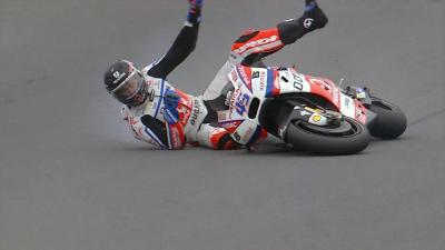 Redding reacts to FP1 crash
