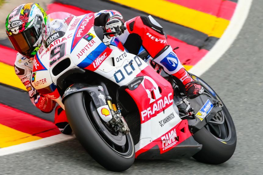 Danilo Petrucci, OCTO Pramac Yakhnich, GoPro Motorrad Grand Prix Deutschland
