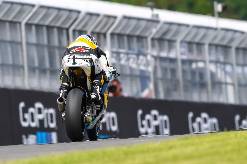 Thomas Luthi, Garage Plus Interwetten, GoPro Motorrad Grand Prix Deutschland
