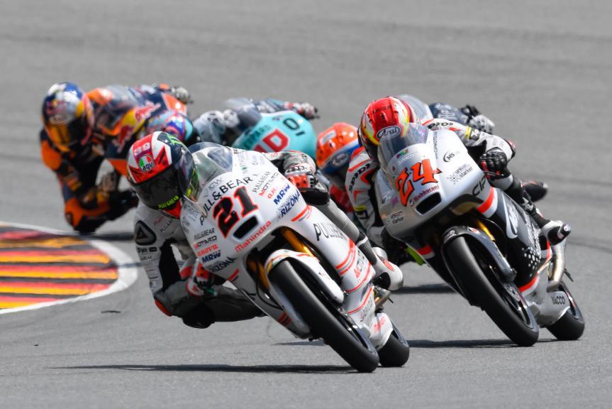 Francesco Bagnaia, Tatsuki Suzuki, GoPro Motorrad Grand Prix Deutschland