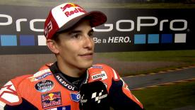 Marc Marquez takes his 7th pole position at the Sachsenring - in a row.