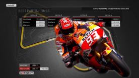 Find out what the ideal MotoGP™ lap from Q2 would have been around the Sachsenring.