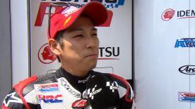 今季の最高位となる9番グリッドに進出した尾野弘樹が公式予選を振り返る。
