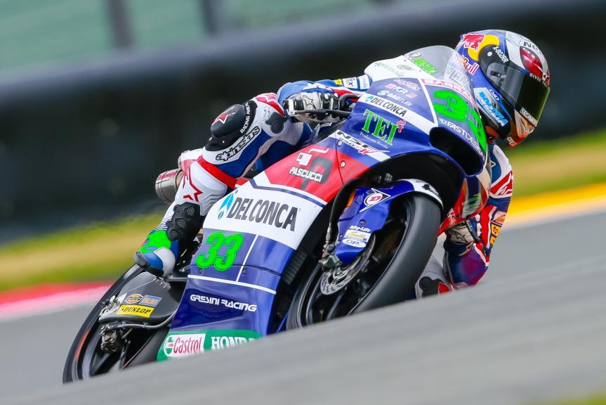 Enea Bastianini, Gresini Racing Moto3, GoPro Motorrad Grand Prix Deutschland