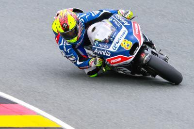 Barberá: «Mi mejor resultado en una parrilla de MotoGP»