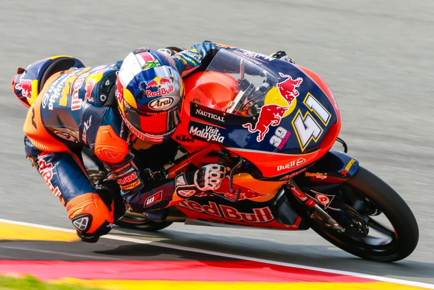 Brad Binder, Red Bull KTM Ajo, GoPro Motorrad Grand Prix Deutschland