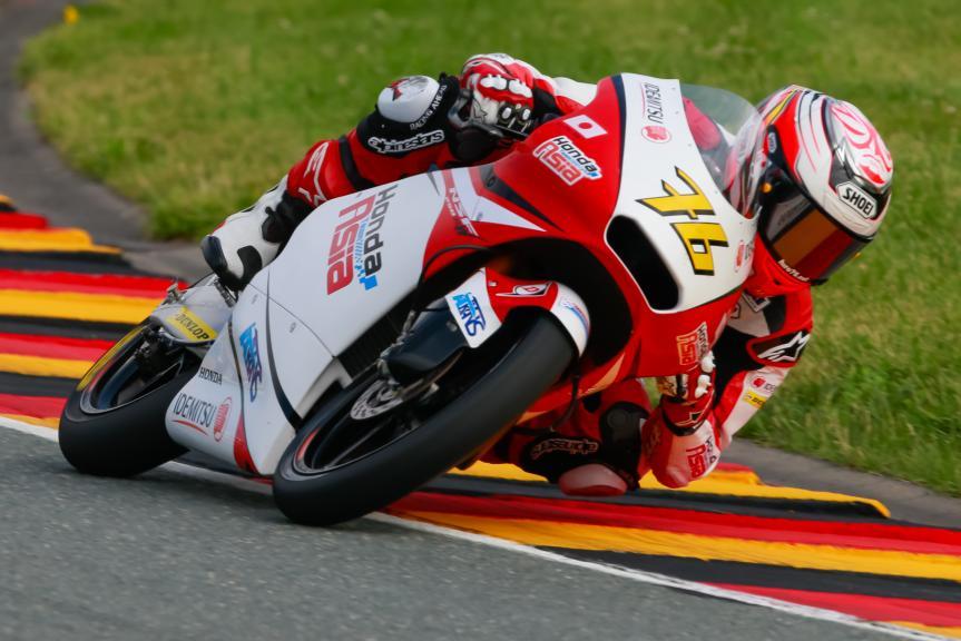 Hiroki Ono, Honda Team Asia, GoPro Motorrad Grand Prix Deutschland
