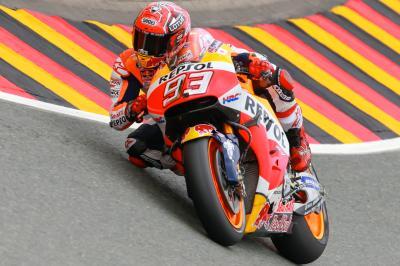 Márquez marca el ritmo en la FP3