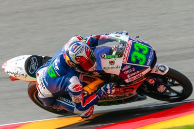 FP3 Moto3™: Bastianini im Training am Samstag vorn