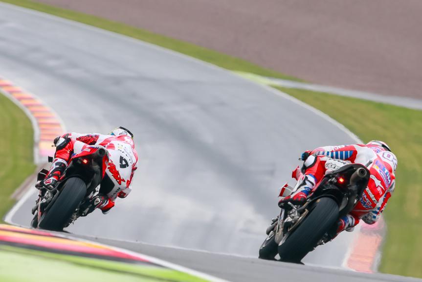 Andrea Dovizioso, Danilo Petrucci, GoPro Motorrad Grand Prix Deutschland