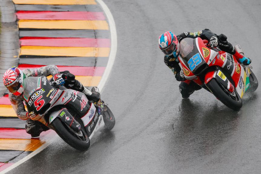 Johann Zarco, Marcel Schrotter, GoPro Motorrad Grand Prix Deutschland