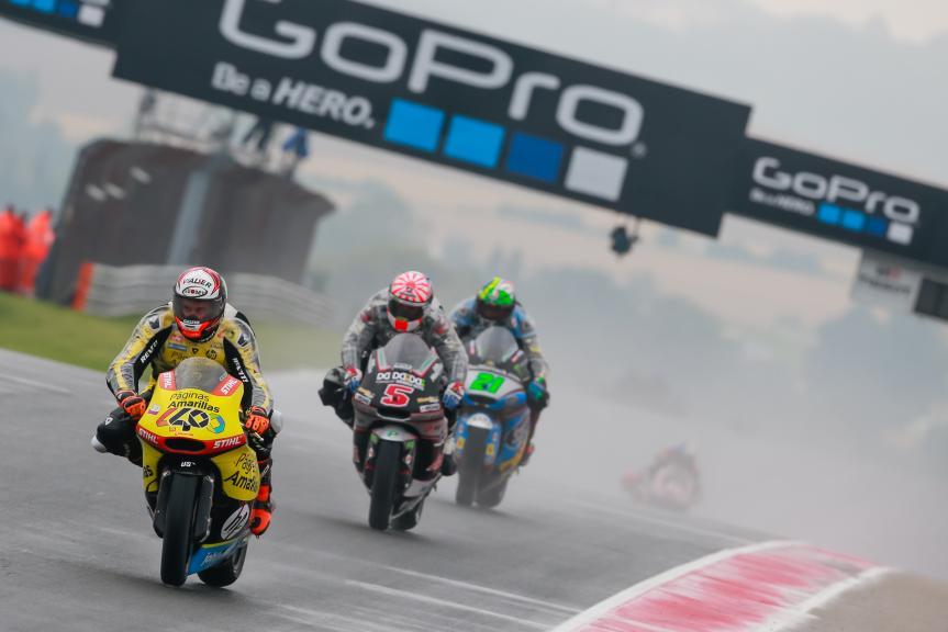 Johann Zarco, Franco Morbidelli, Alex Rins, GoPro Motorrad Grand Prix Deutschland