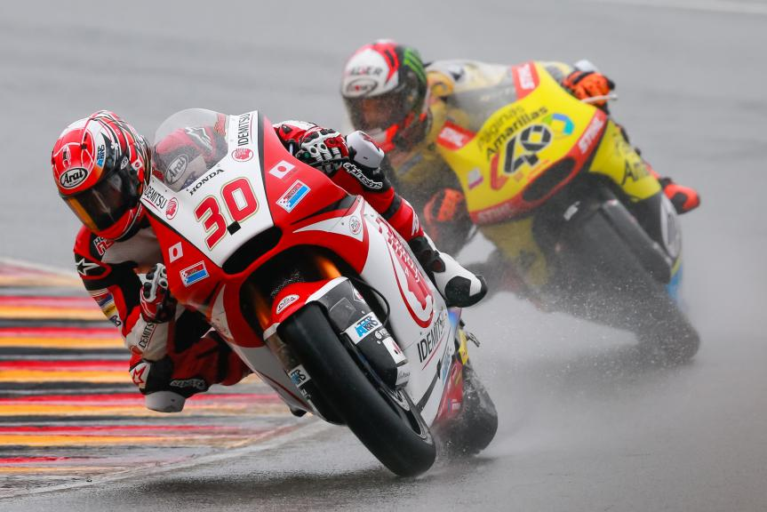 Takaaki Nakagami, Alex Rins, GoPro Motorrad Grand Prix Deutschland