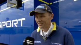 Nicolas Goubert, direttore tecnico Michelin, parla delle gomme usate al GP di Germania.