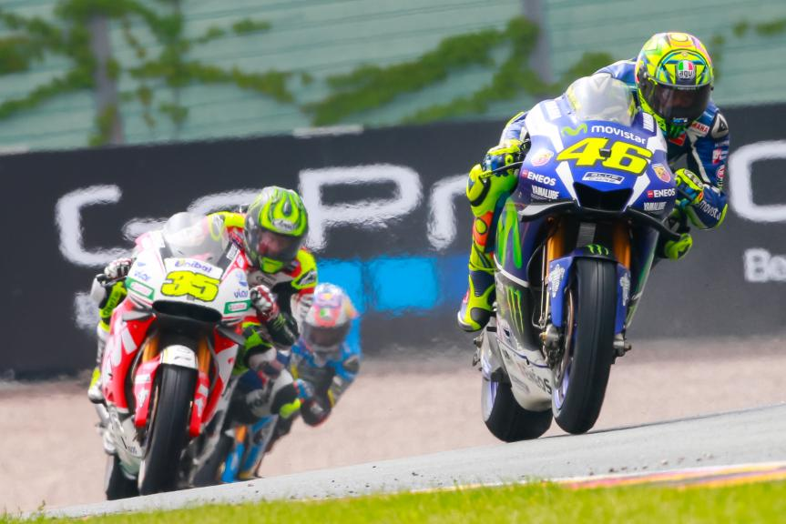 Cal Crutchlow, Valentino Rossi, GoPro Motorrad Grand Prix Deutschland