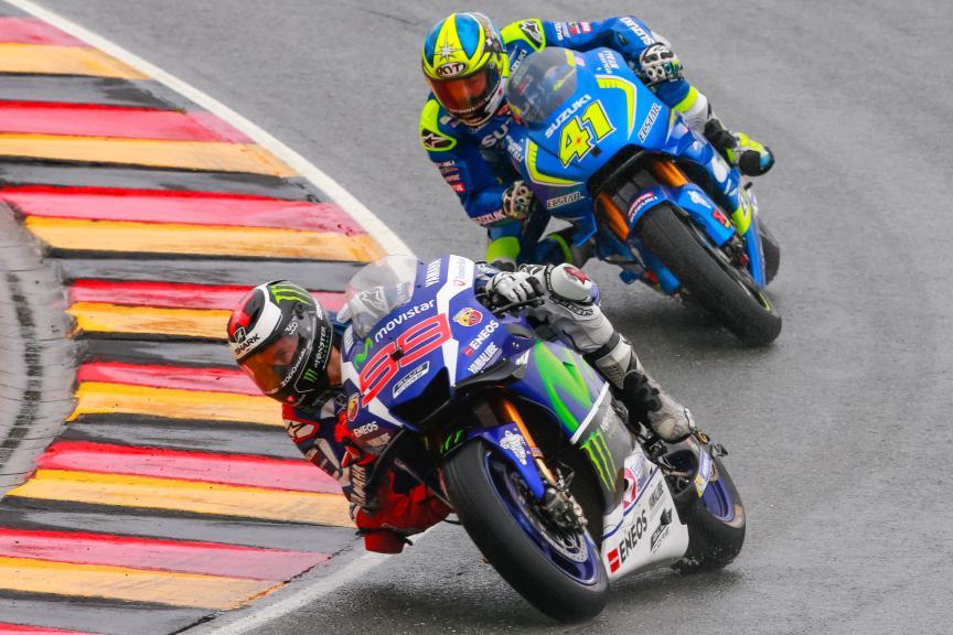 Jorge Lorenzo, Aleix Espargaro, GoPro Motorrad Grand Prix Deutschland