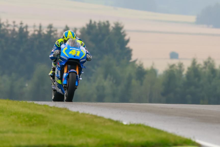 Aleix Espargaro, Team SUZUKI ECSTAR, GoPro Motorrad Grand Prix Deutschland