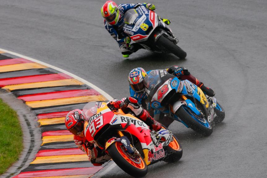 Jack Miller, Marc Marquez, GoPro Motorrad Grand Prix Deutschland