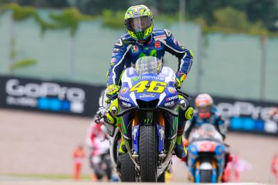 "Rossi: ""In a normal wet race I could have fought'"