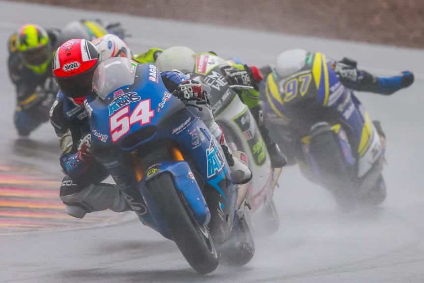 Mattia Pasini, Italtrans Racing Team, GoPro Motorrad Grand Prix Deutschland