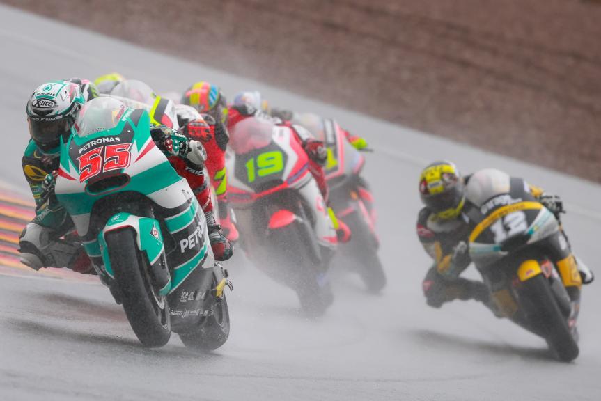 Hafizh Syahrin, Xavier Simeon, Thomas Luthi, GoPro Motorrad Grand Prix Deutschland