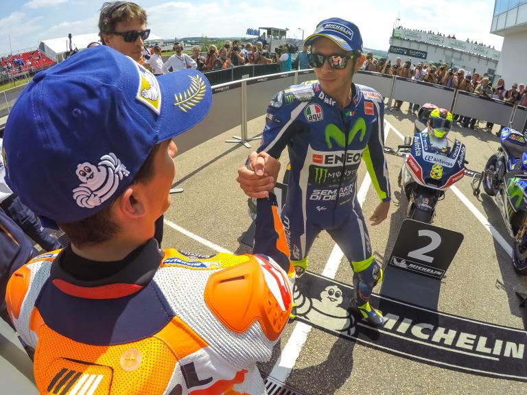 Valentino Rossi, Marc Marquez, GoPro Motorrad Grand Prix Deutschland