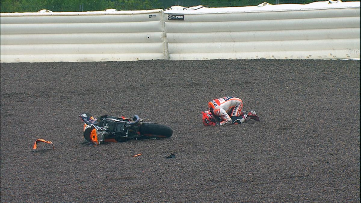 Marquez crash: Can bad weather break his Sachsenring streak?