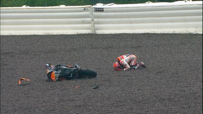 Marquez crash: Can bad weather break his Sachsenring streak?