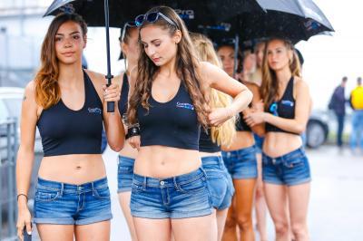 Les Paddock Girls du #GermanGP
